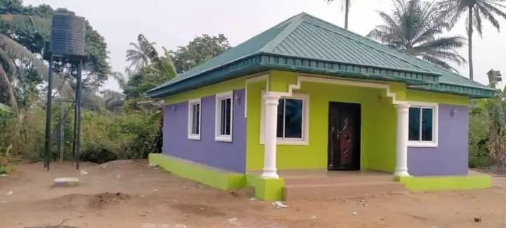 Martha Udom lauds Frank Archibong for providing shelter for Widows