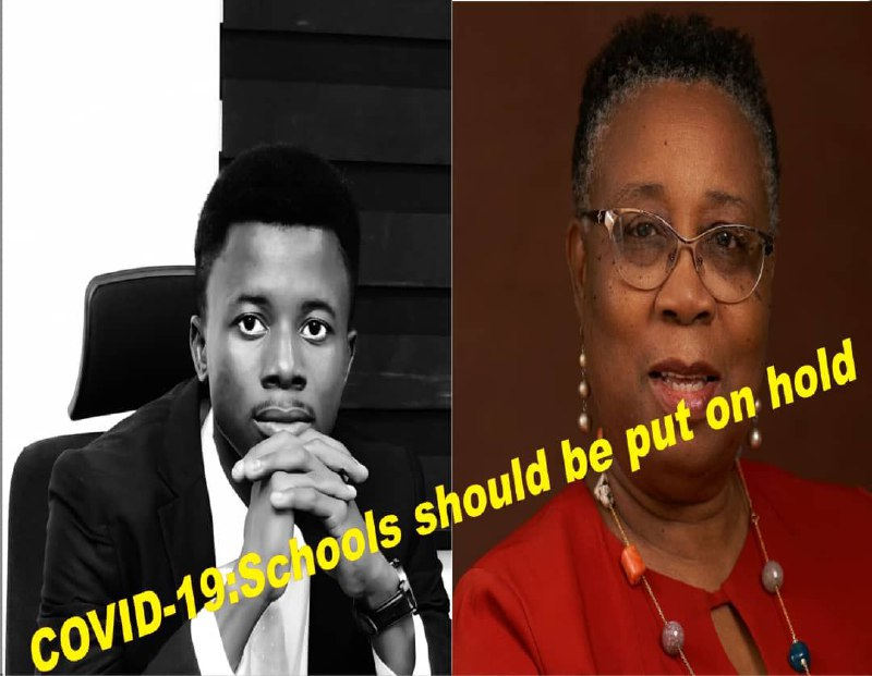 Covid-19: School Should be put on hold - Ohore to Adefisayo
