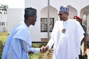 Buhari backs up Shagari's grandson for Council Chairman in Abuja