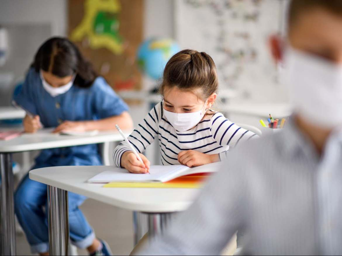 An unvaccinated teacher spread COVID-19 to 50% of students in a classroom