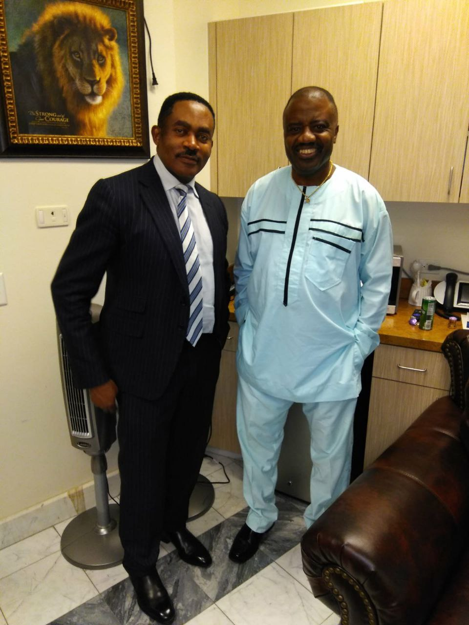 Here is what Big D has to say about Dr. Godwin Maduka's stride