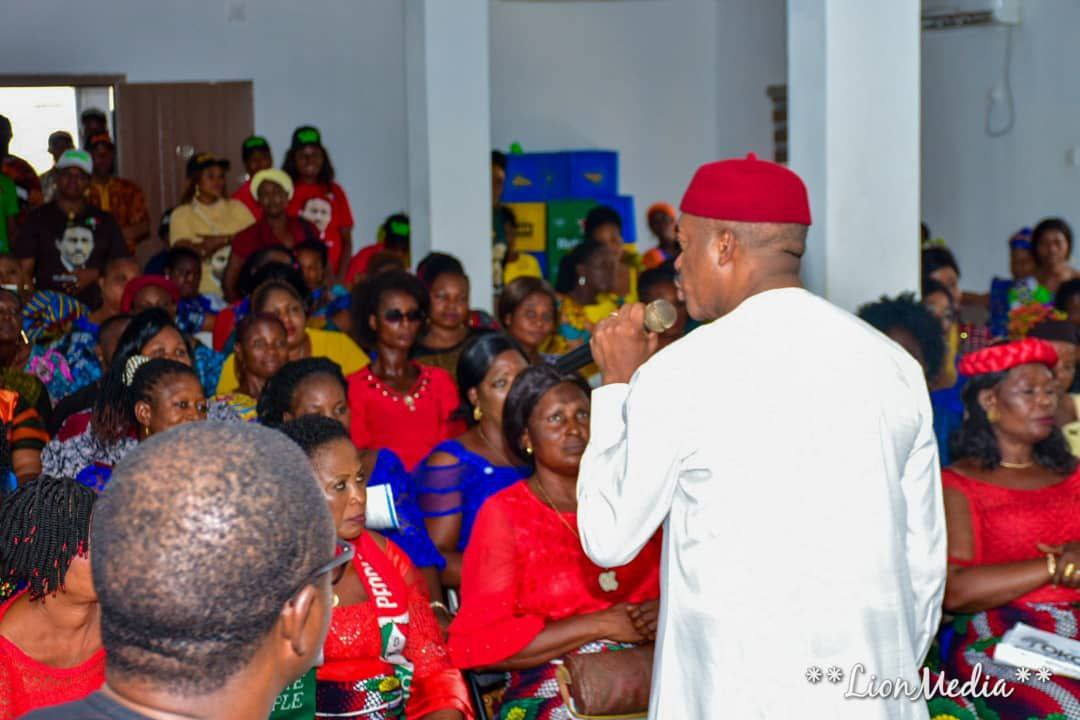 DR. MADUKA HOSTS THE 326 WARD WOMEN LEADERS OF THE PDP
