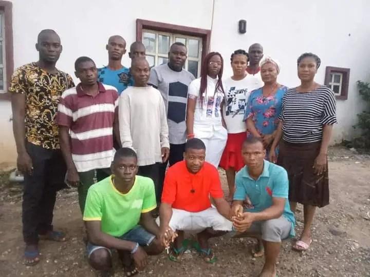 Twelve (12) IPOB Activists Regains Freedom