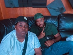 Cassio Spotted Chilling With Nigerian Music Artiste, Teni