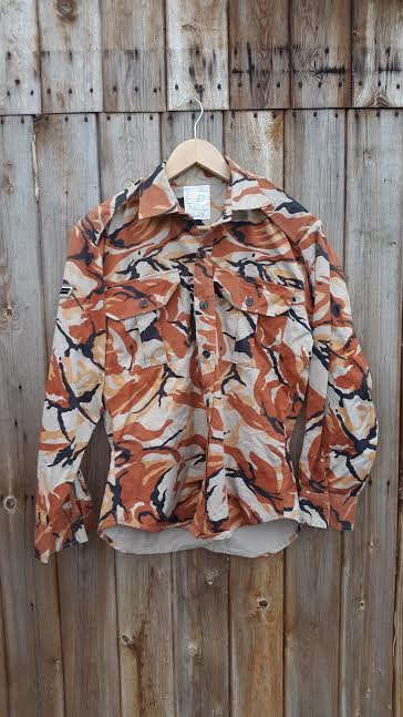 Oman DPM pattern shirt 2  GBF Militaria
