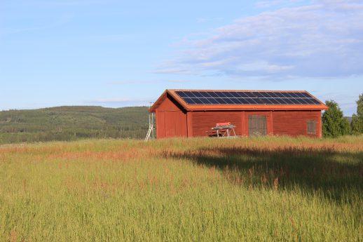 Solenergi i Grangärdebygden