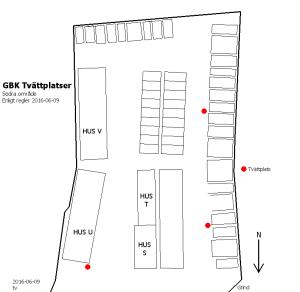 Karta över tvättplatser