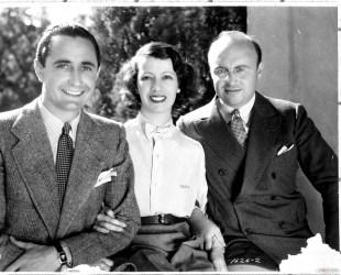 con il soprano Lily Pons e il marito di lei André Kostelanetz