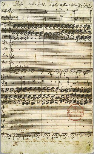 Johann Sebastian Bach Johannespassion