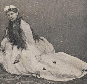 Angiolina Ortolani Tiberini as Ofelia