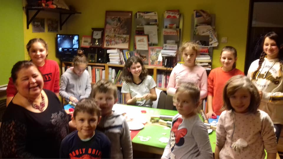 Ferie z Biblioteką w  Milinie