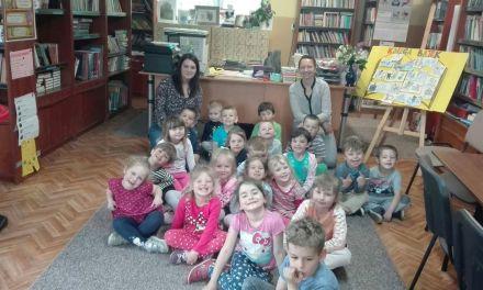 Lekcja biblioteczna w Domanicach