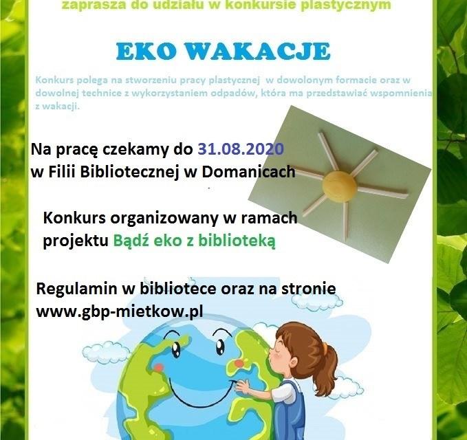 Konkurs Eko wakacje