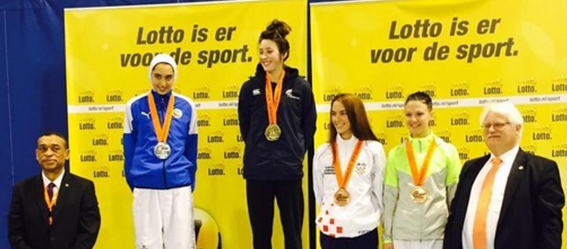 Joy Of Six-Olympic Champion Jones' Dutch Delight As Super Sansum Also Wins Gold For Britain