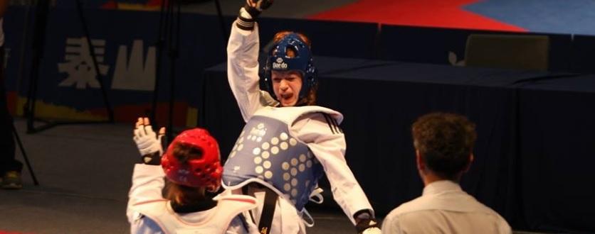 GB Taekwondo Greets Fantastic Five
