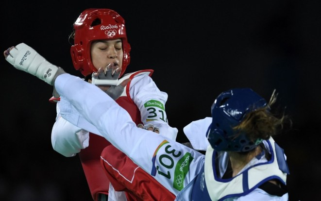 Jade Jones Round 1 MAR