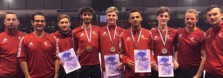 Fantastic Four Medal in France