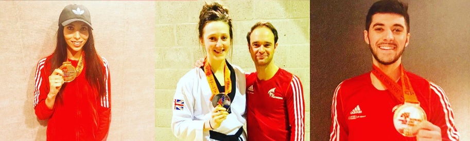 Double Dutch makes perfect sense to GB Taekwondo stars