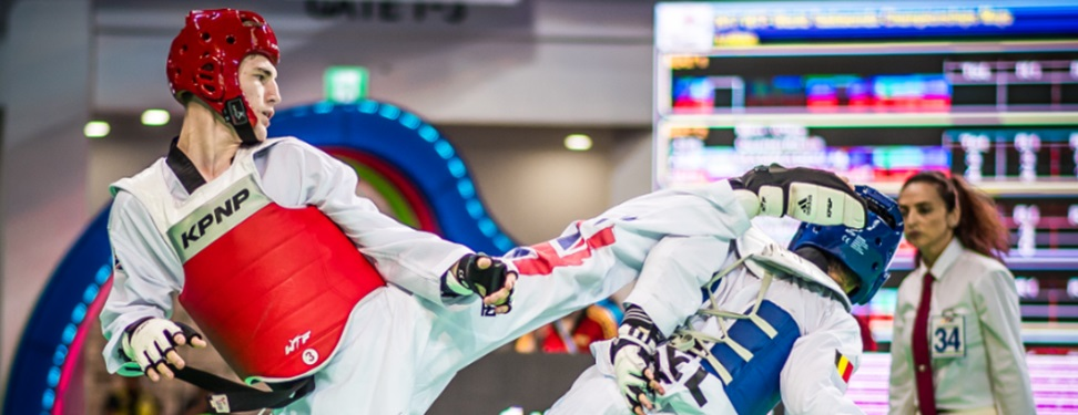 Into Africa. Grand Prix Test for GB Taekwondo's Big Hitters