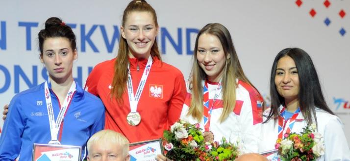 So Near for Battling Bianca as GB Taekwondo Celebrates Record Championship Performance