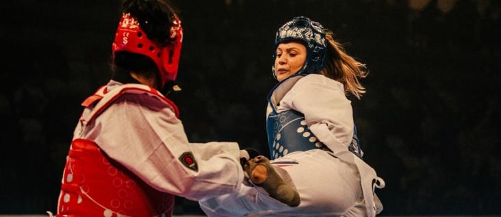 Silver Lining for Amy at Para Taekwondo Asian Open