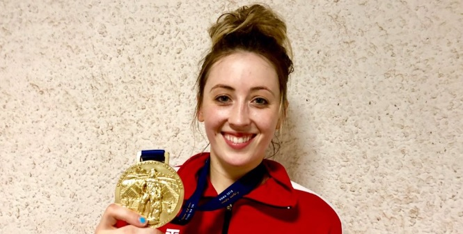 Double Olympic Champion Jade Jones completes her Italian job