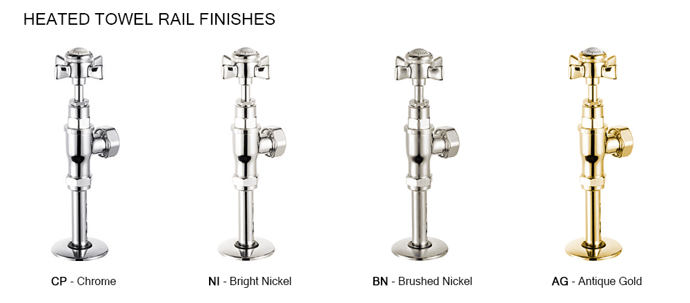 Great British Taps Handles and Finishes