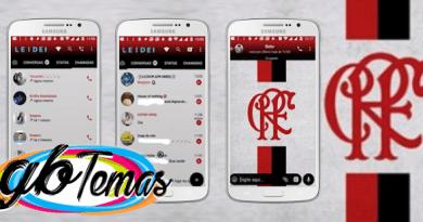 Tema GBWhatsapp – Flamengo 4