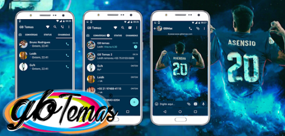 Tema GBWhatsapp – Asensio no Real Madrid