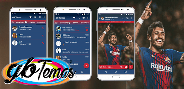 Tema GBWhatsapp – Paulinho no Barcelona