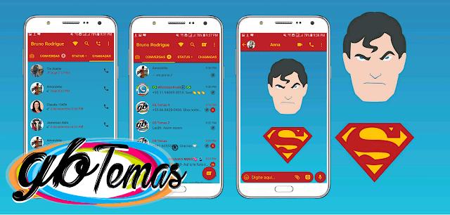Tema GBWhatsapp – Superman