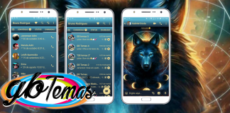 Tema GBWhatsapp - Northern Wolves