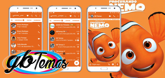 Tema GBWhatsapp - Procurando Nemo