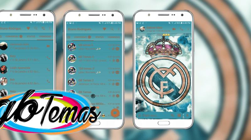 Tema GBWhatsapp - Real Madrid