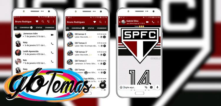 Tema GBWhatsapp - São Paulo FC