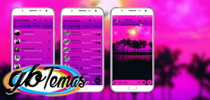 Tema GBWhatsapp - Sunset