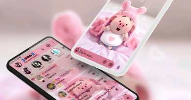 Tema Aero Whatsapp - Fluffy piggy