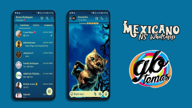 Tema NSWhatsapp - Cheshire Cat
