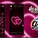 Tema Delta Whatsapp - Neon Hearts