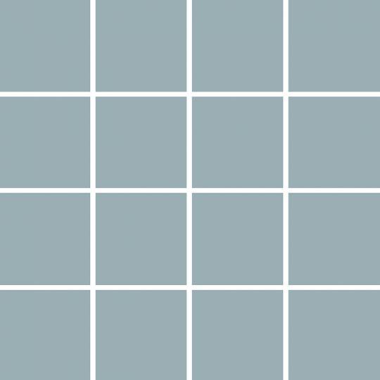tesoro atlas light grey matte 3 x 3 mosaic