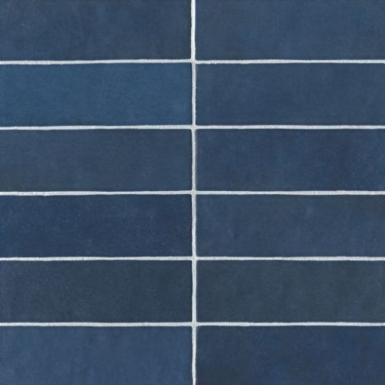 bedrosians cloe blue 2 5 x 8 gloss ceramic wall tile