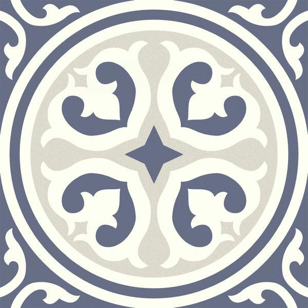 emser design mural 9 x 9 glazed porcelain tile
