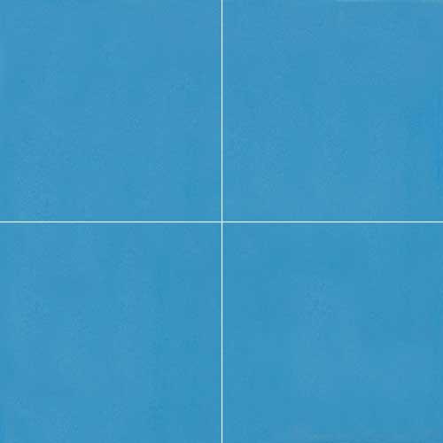 granada cement tile sky blue solid color