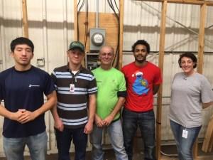 Quickstart Electrical Helpers Program students at Galveston College