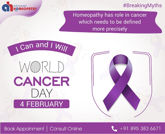 Cancer treatment via Homeopathy
