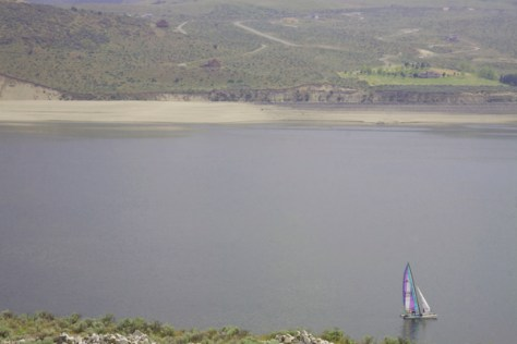 Low lake coming up