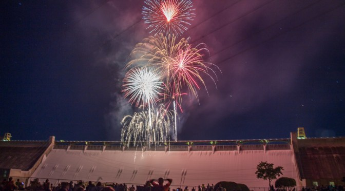 Look for fireworks at North Dam July 4