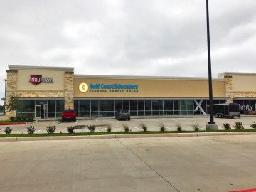 The new branch is located on Garth Road, next to Mod Pizza