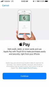 Mobile Wallet - Apple Pay