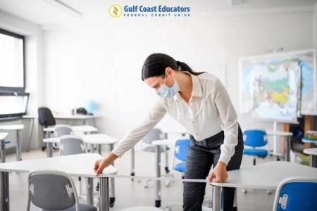 social distancing classroom